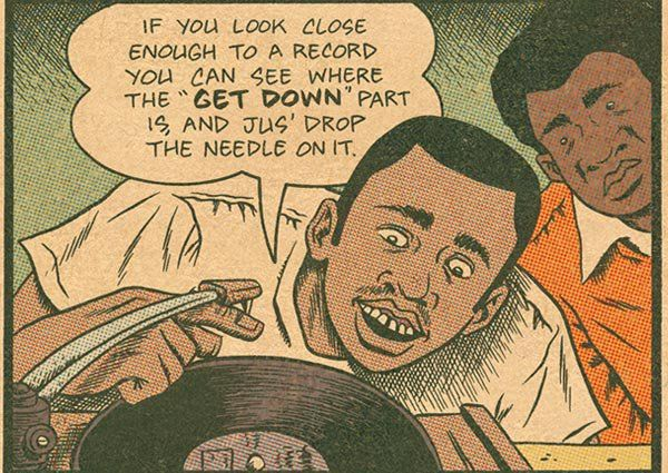 Another picture collection curated for you, featuring cool comics about vinyl records. We hope there will be more of them in the future as the black gold has increasing sales in 2011/2012 and getting also hyped by the media at … Continue reading →