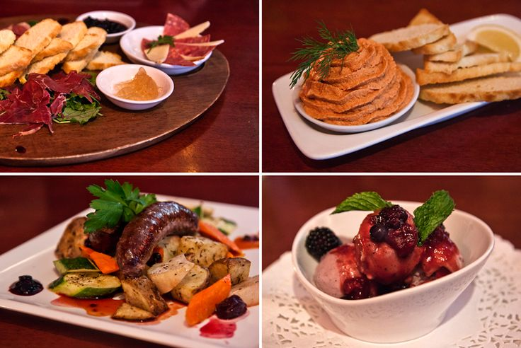 A spread of delectable First Nations cuisine at Salmon 'n Bannock Bistro in Vancouver, BC.