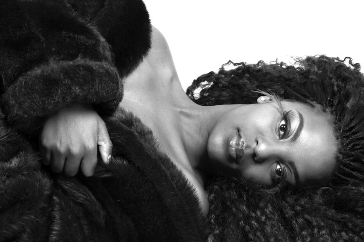 "Makeup, Hair & Styling by jenny for a ""Autumn Themed"" Shoot with Chantal Drummond! #2 (black & white)"