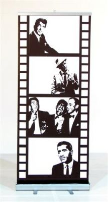 Event Prop Hire: Rat Pack Film Strip, if we get the photo booth, would be so clever to put on