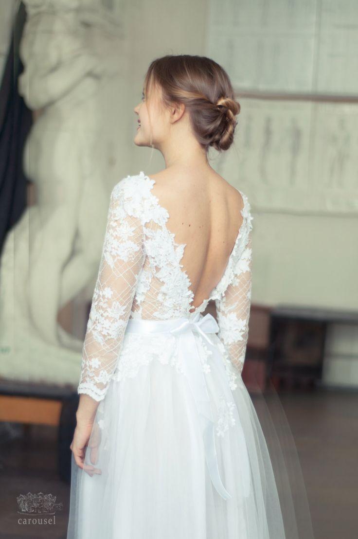 Wedding dress // Charline by CarouselFashion on Etsy, $795.00