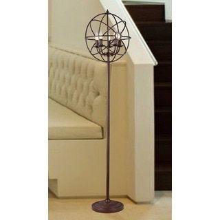 Maaja 5-light Spherical Metal 66-inch Antique Floor Lamp - 18462617 - Overstock.com Shopping - Great Deals on Warehouse of Tiffany Floor Lamps