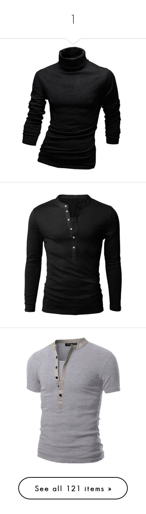 """1"" by bluekiller2002 ❤ liked on Polyvore featuring men's fashion, men's clothing, men's shirts, men's t-shirts, mens long sleeve turtleneck shirts, mens longsleeve shirts, mens turtleneck shirts, mens long sleeve t shirts, mens polo v neck t shirts and men"