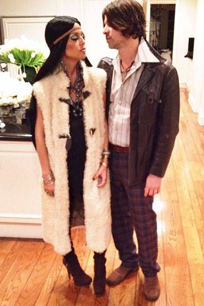 33 BEST celebrity Halloween costumes: Rachel Zoe and Roger as Sonny and Cher