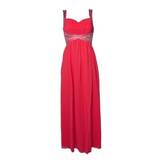 Max & Lola Coral Sweetheart Dress