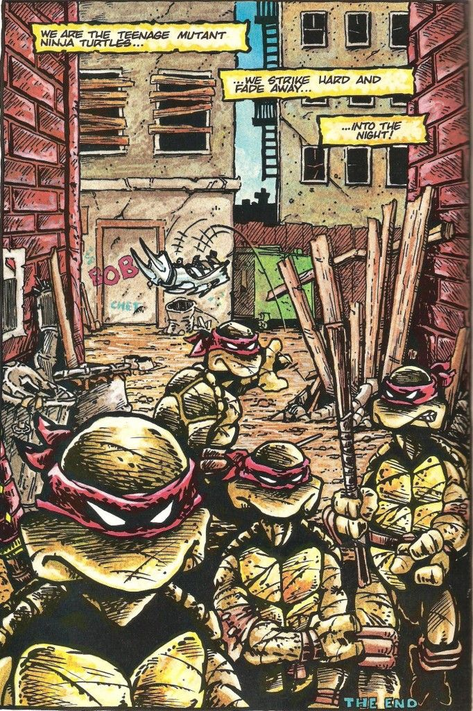 TMNT, Issue 1, 1984