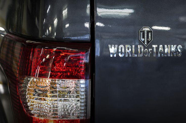 Обновленный УАЗ Патриот World of Tanks Edition