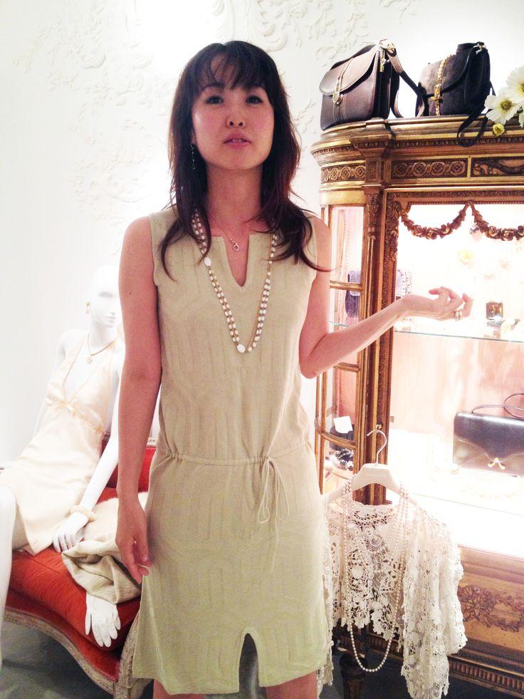 サマードレス オリーブ