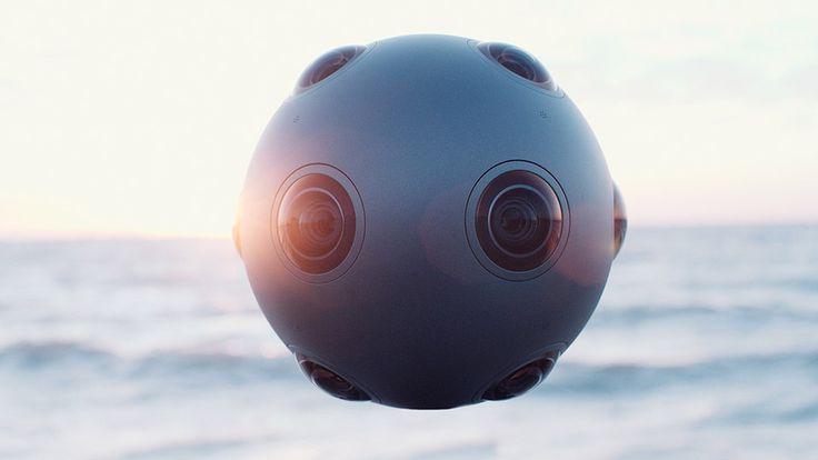 Nokia reveals Ozo, a futuristic new camera for filming virtual reality [Virtual Reality: http://futuristicnews.com/tag/virtual-reality/ VR Headsets: http://futuristicshop.com/category/video-glasses/]