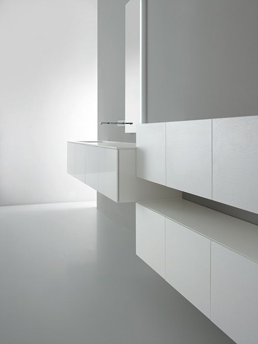 Minimalist Bathroom Pinterest : Casabath wall collection bathroom furniture