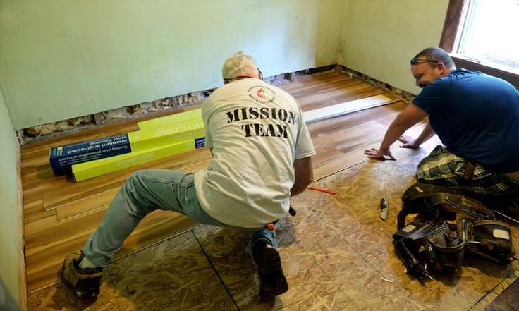 Army of volunteers march into Richwood to rebuild flood damaged homes