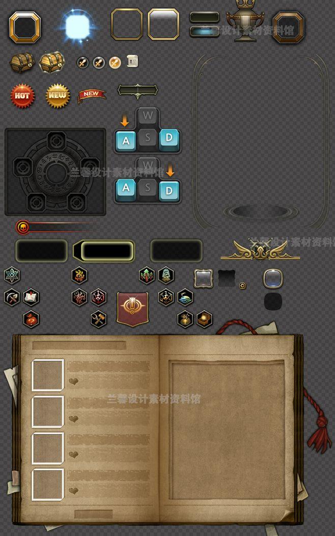 龙之谷全套界面UI