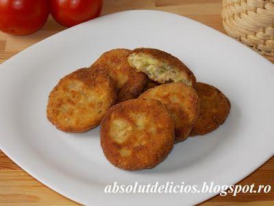 Absolut Delicios - Retete culinare: CHIFTELE DE DOVLECEI CU BRANZA