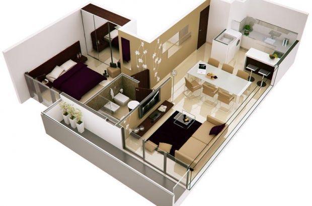70 mejores im genes sobre maquetas de casas en pinterest for Maquetas de apartamentos modernos