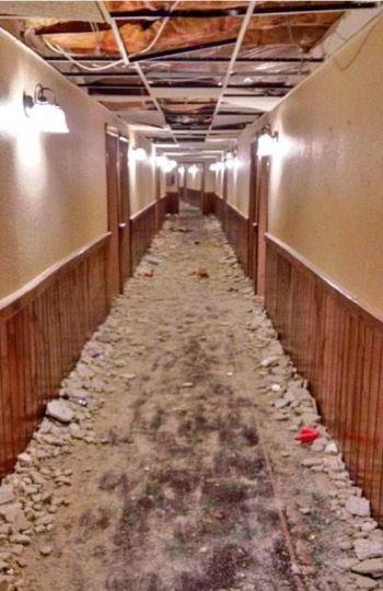 Universitarios Destruyen Hotel, 500.000 dólares en daños !