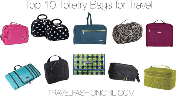 Best Toiletry Bags for Travel: Our Top 10 Choices to Help you Organize