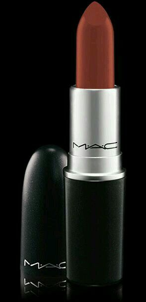 Mac lipstick in chili perfect for olive skin tones. Great for summer