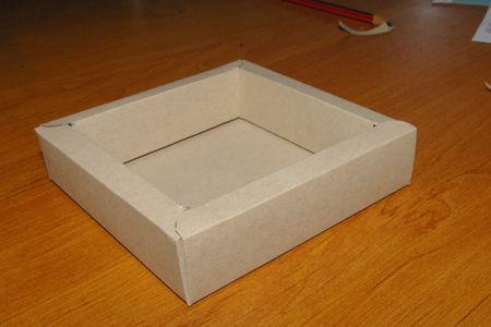 box tutorial pour faire des cadres en volumes!
