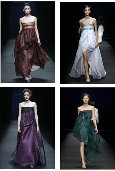 Modern variations of hanbok