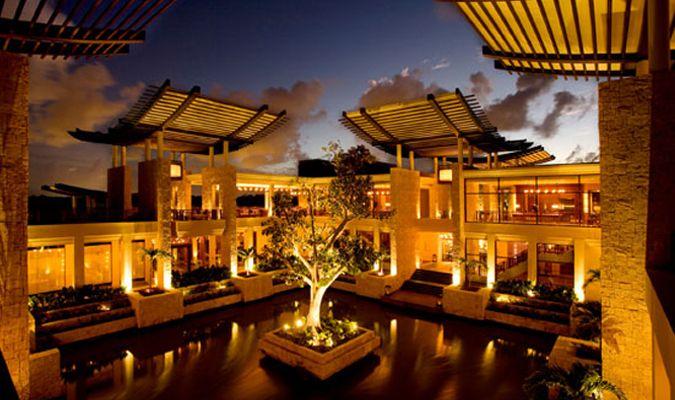 Bayantree luxury resort in Mayakoba Mexico