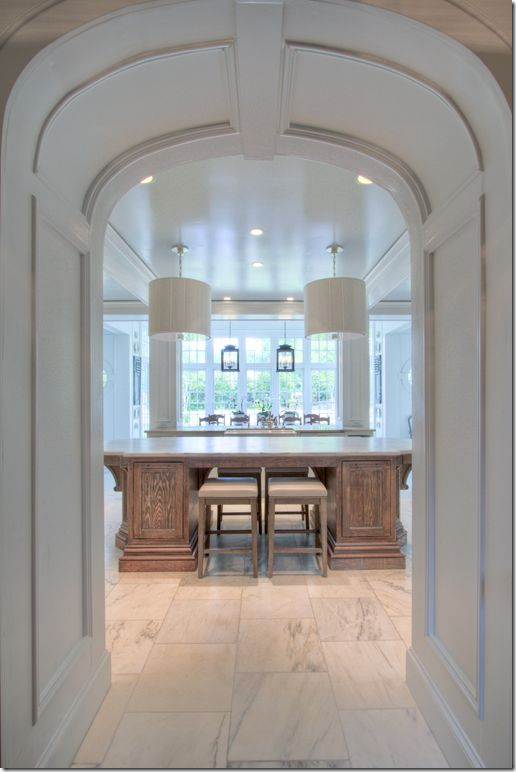 kitchen entry...just stunning