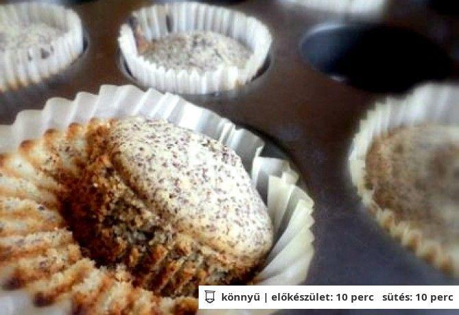 mákos muffin MENTES GLUTÉN