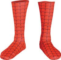 Kids Spiderman Costume Boot Covers Spiderman Costumes