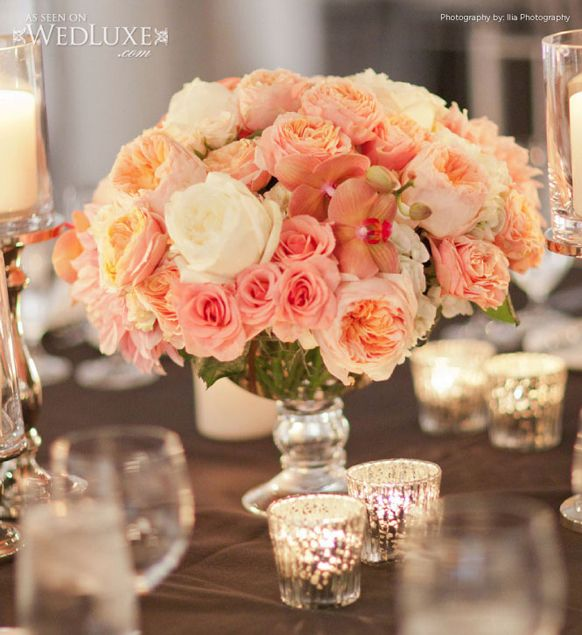 Short Wedding Reception Centerpieces   Weddings Romantique
