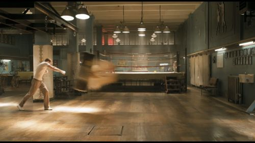 Captain America Boxing Scene Retro Gym Pinterest