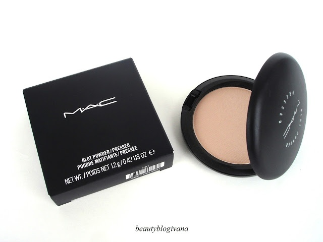 MAC Blot Powder works amazingly with matchmaster foundation. ..I never have oily greasy skin anymore... and it's so light compared to cakey looking makeup