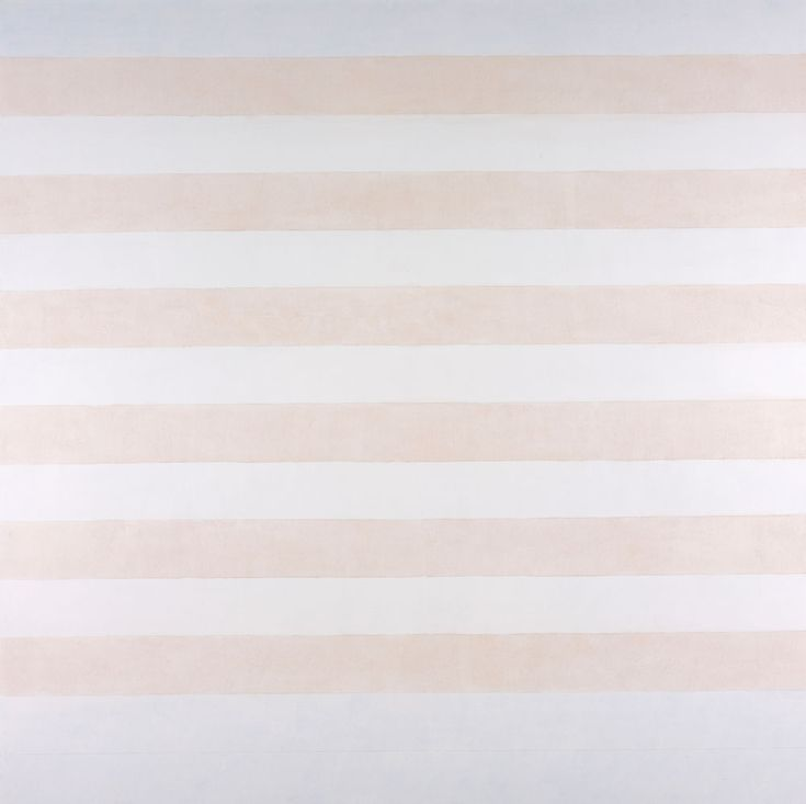 Happy Holiday, 1999; Acrylic and graphite on canvas; 152.40 x 152.40 cm; © Estate of Agnes Martin/DACS, London 2008