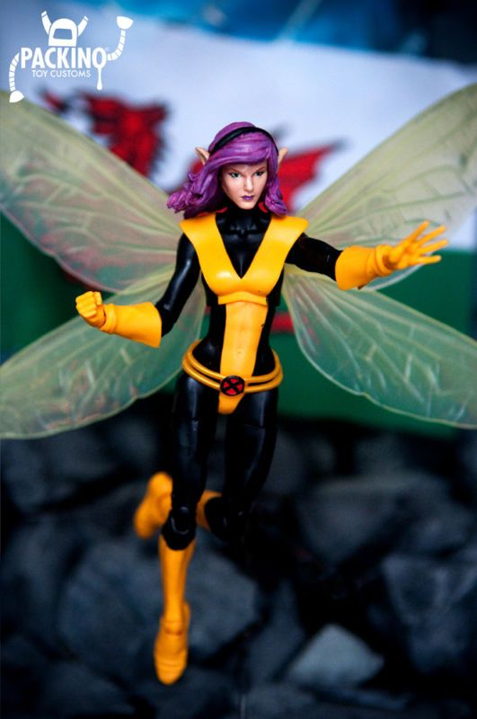 Pixie (Megan Gwynn) (Marvel Legends) Custom Action Figure [Cymru am byth!]