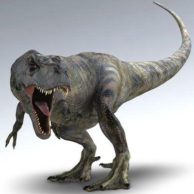 T-Rex, my daughter's favorite dinosaur!