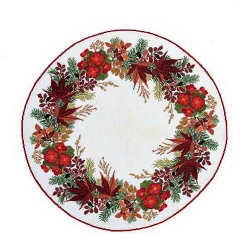 Eva Rosenstand® Begonia Centerpiece Counted Cross-Stitch Kit - Herrschners