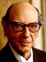 """Sir Isaiah Berlin OM, CBE, FBA, was a Russian-born British-Jewish social and political theorist, philosopher and historian of ideas, """"thought by many to be the dominant scholar of his generation""""."""