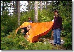 Tarp Shelters - An Introduction by David B. Macpherson - EQUIPPED TO SURVIVE (tm)