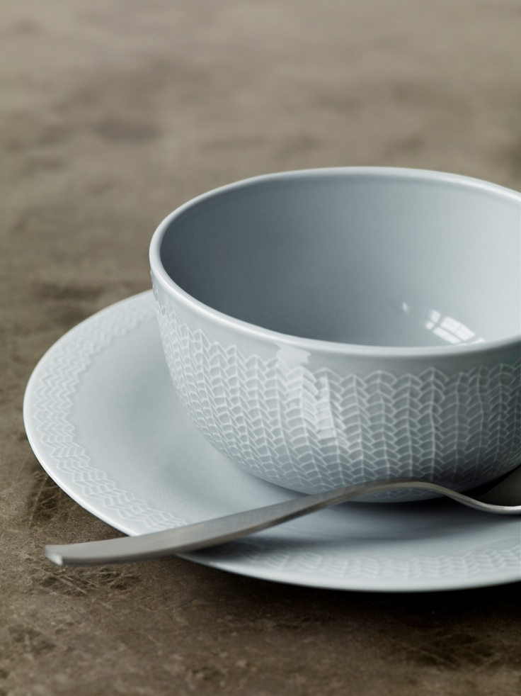 Sarjaton - The Finns have been braiding since forever. Enjoy it in the embossed bowls, plates and mugs.  #Sarjaton