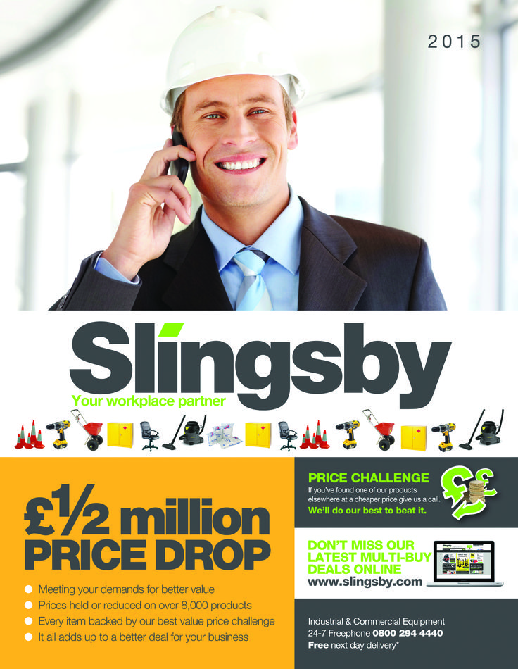 Slingsby Main Catalogue 2015