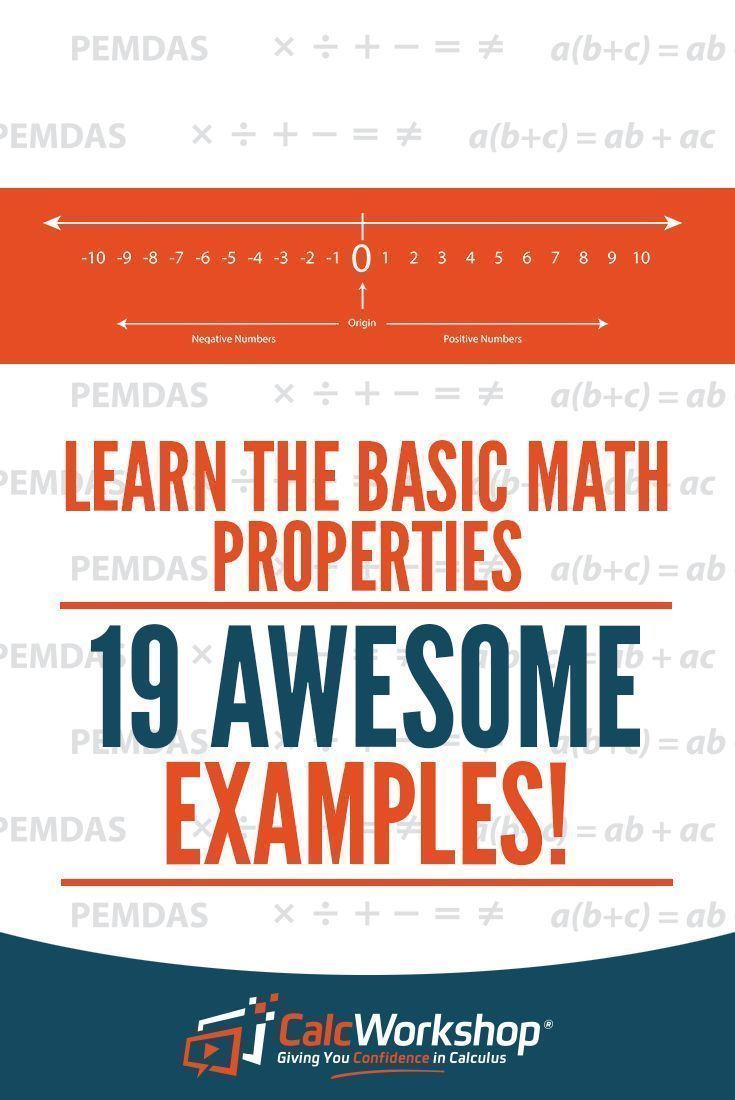 Math Properties - TERRIFIC video lesson with 19 Examples.  This unit covers the nine algebra properties including the Distributive, Commutative, Associative, Identity, Inverse, Reflexive, Symmetric, and the Transitive Property.  Perfect for high school and middle school math courses.  It's also a great review if you're new to teaching this topic.  Check it out today! #algebra #math #calcworkshop