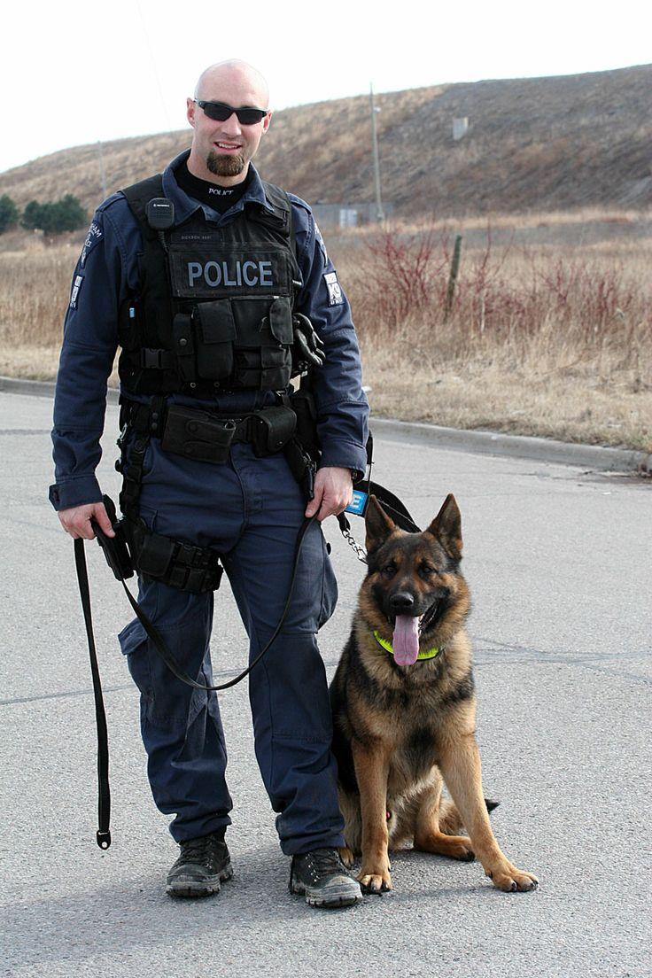 Police Dog Bite Force