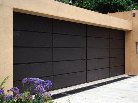 M s de 25 ideas fant sticas sobre portones minimalistas en - Puertas para cocheras electricas ...