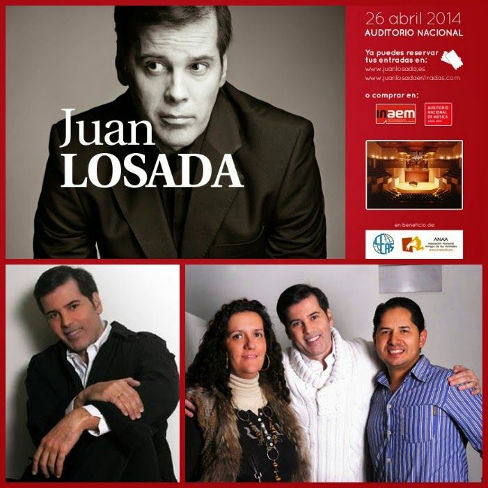Este sábado 26 de Abril a las 22:30: Conciertazo de @JuanLosada_ en el Auditorio Nacional de Música Madrid VER: http://www.aloastyle.com/2014/04/juan-losada-el-retorno-del-jedi-videos.html ♥