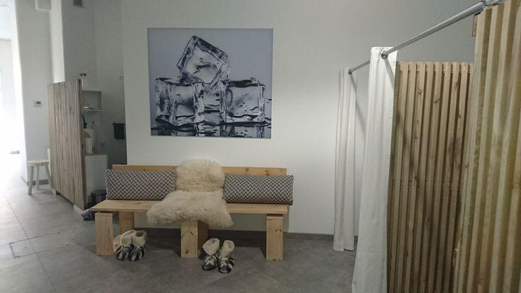 Textielframe / Beeld is vervangbaar - Cryo - Wood / ice