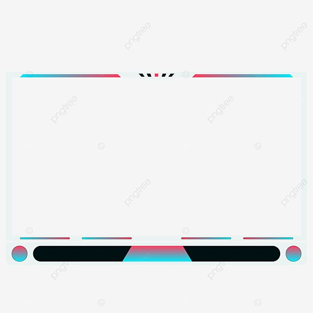 Streaming Overlay Facecam Fremplate Live Gaming Live Vector Stream Png And Vector With Transparent Background For Free Download Overlays Streaming Photo Background Images
