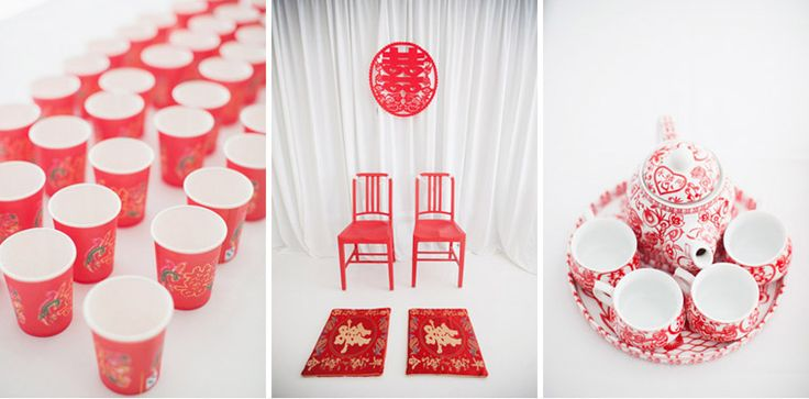Chinese wedding details.