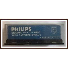 Vintage Philips Ceramic Head with Stylus. GP224 Sapphire for Turntable.New redundant stock item