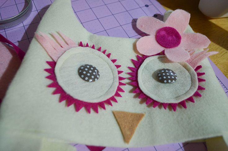Toddler owl costume