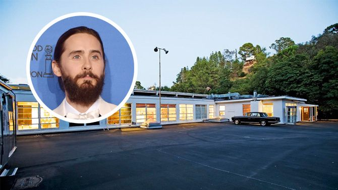 Jared Leto Buys Military Compound Home (stunning house... Take a look at the picture, it worth it !!)