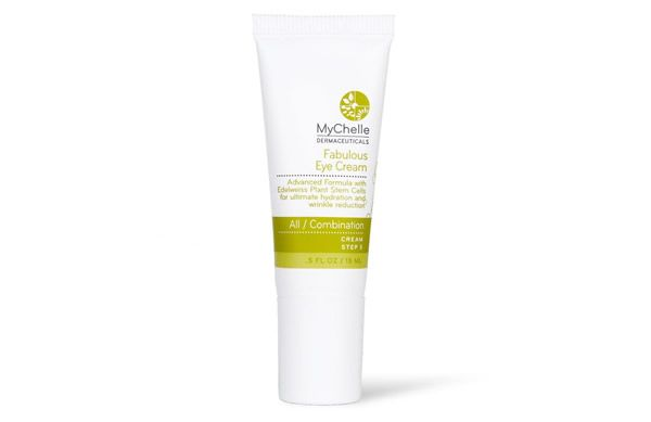 Prevent collagen breakdown, hydrate and smoothe the skin around the eyes with the MyChelle Dermaceuticals Fabulous Eye Cream.
