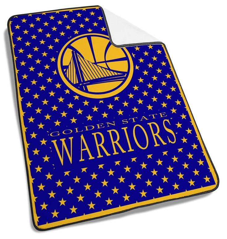 Golden Warriors Logo Yellow Blanket #Golden #Warrior #Logo  #Blanket #goldenwarrior #Basketball #team #sport #sports